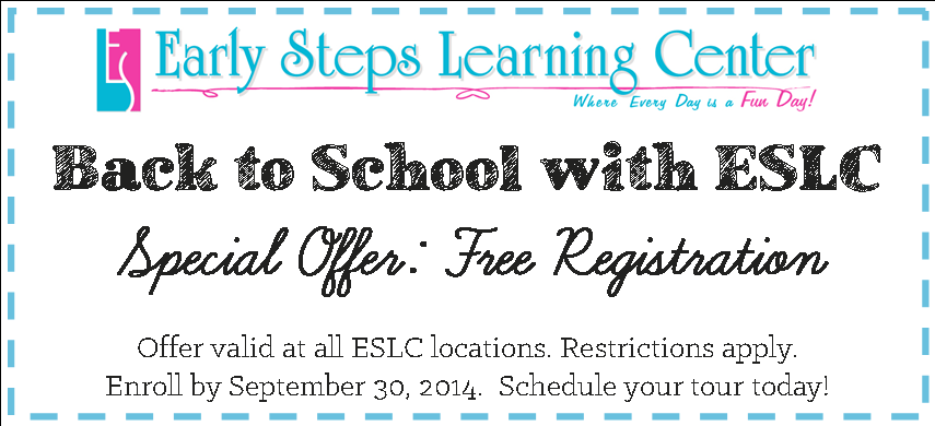 ESLC Back to School 2014 Coupon