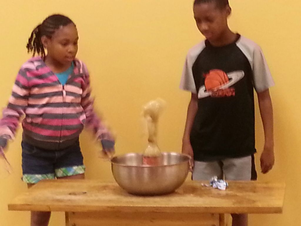 Summer Camp Mad Science Week - Menthos and Coke Explosion