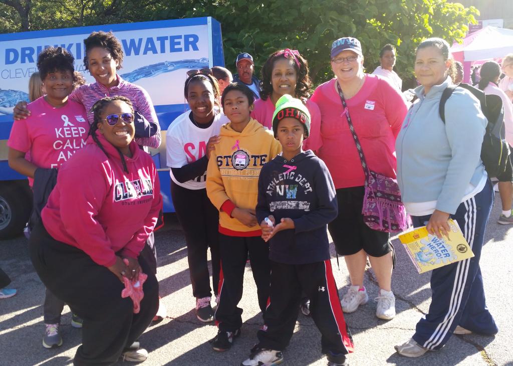 ESLC at Strides Against Breast Cancer Walk 2015