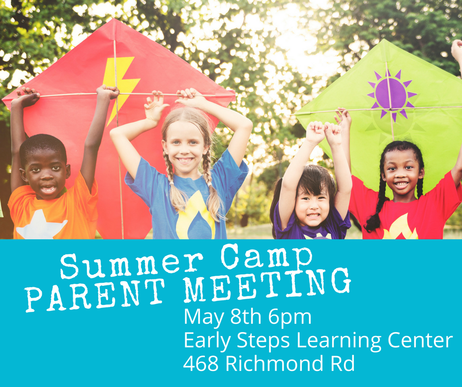 Summer Camp Parent Meeting