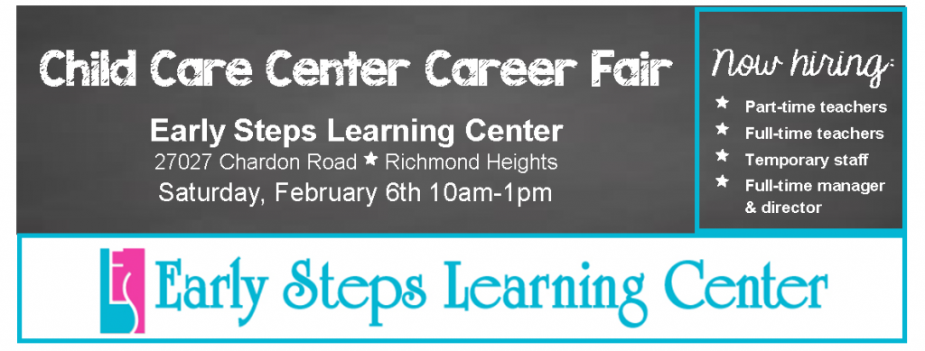Early Steps Learning Center Career Fair
