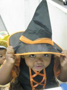 fall harvest celebration witch