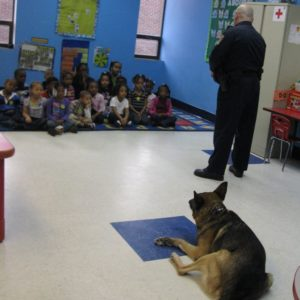 Richmond Heights Police Department Visit K9