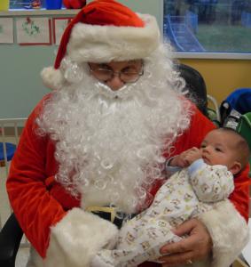 ESLC Santa Visit Infants